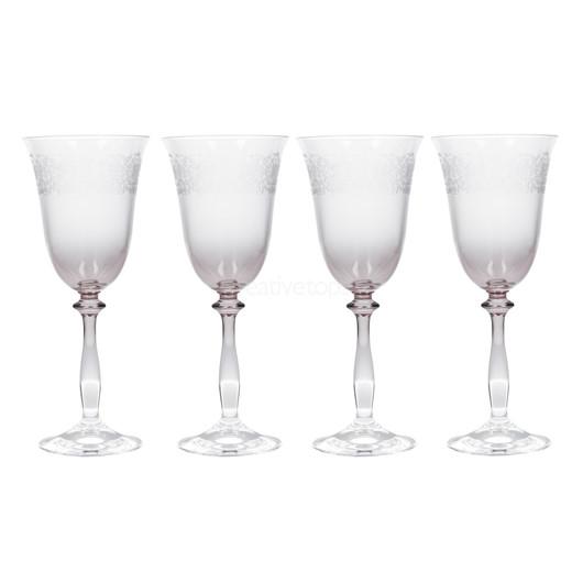 Katie Alice The Collection Набор бокалов для вина с тиснением 4 ед  (арт. 000179)