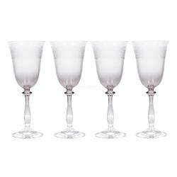 Katie Alice The Collection Набор бокалов для вина с тиснением 4 ед