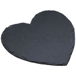 MC Artesa Подставка сервировочная грифельная Сердце 25см