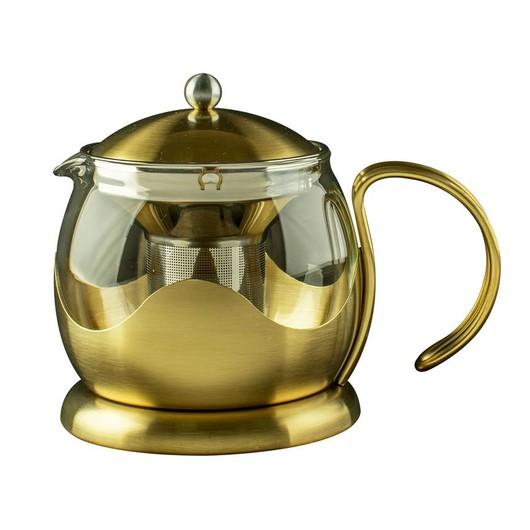CT La Cafetiere Edited Чайник золотостого кольору