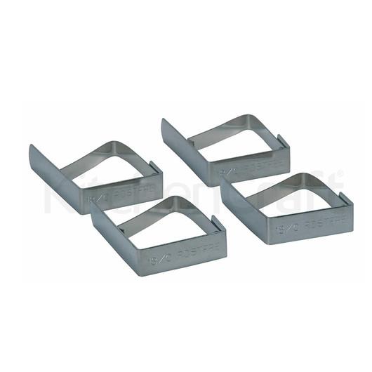 KC Зажим для скатерти из нержавеющей стали 4 единицы  (арт. 119629)