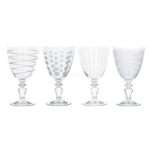 Mikasa Cheers Набор бокалов для вина на ножке из хрусталя 503мл 4 ед  (арт. 000210)
