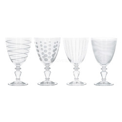 Mikasa Cheers Набор бокалов для вина на ножке из хрусталя 503мл 4 ед