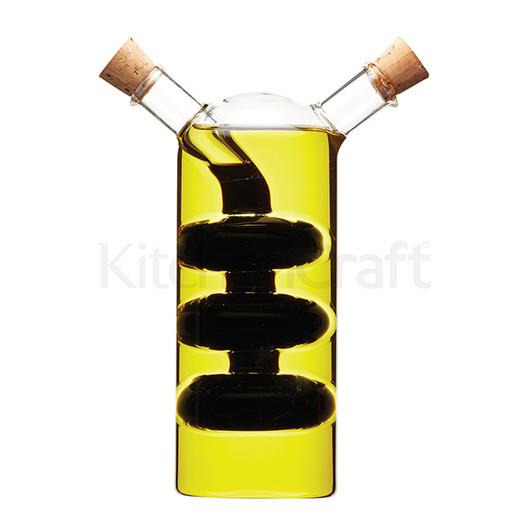 WFIT Бутылка для масла/уксуса стеклянная двойная 350 мл/100мл  (арт. 547378)