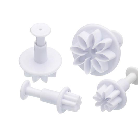 SDI Пресс для декора из сахарной глазури Цветок 4 единицы  (арт. 103369)