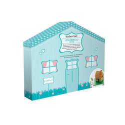 SDI Форми для печива Пряниковий будиночок металеві 7 одиниць