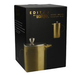 CT La Cafetiere Edited Кавник з подвійною стінкою золотистого кольору (8 чашок)