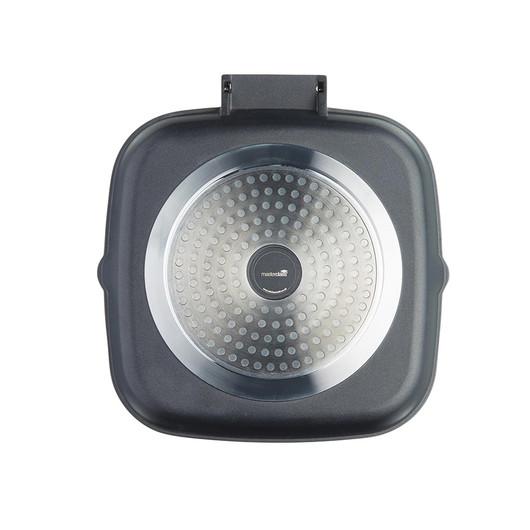 MC CA Сковорода для гриля алюмінієва з антипригарним покриттям квадратна  (арт. 720573)
