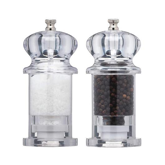 МС Набір млинів для солі і перцю акриловий 13 см  (арт. 478412)