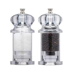 МС Набір млинів для солі і перцю акриловий 13 см