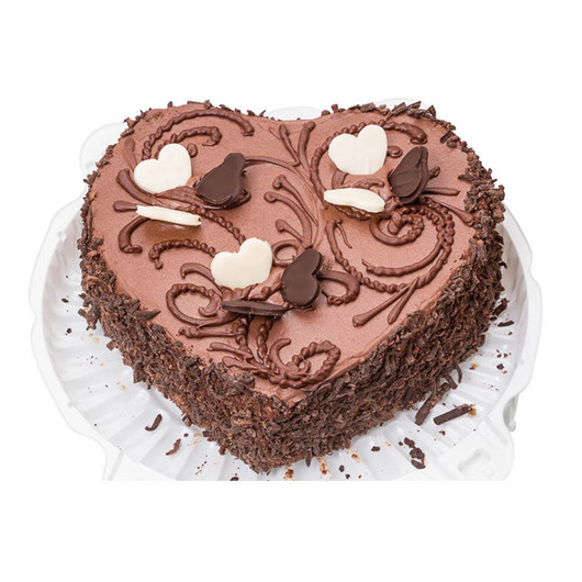 MC NS Форма для выпечки пирога Сердце с антипригарным покрытием 26см х 24см  (арт. 139849)