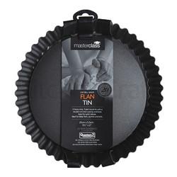 MC NS Форма для выпечки круглая рифленая с антипригарным покрытием, 25см х 5,5см