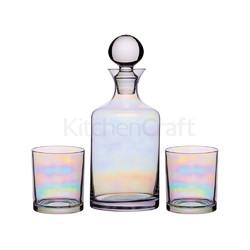BC Lustre Набор стеклянный (графин 1л и стаканы 350мл 2 ед)