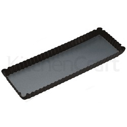 MC NS Форма для випічки прямокутна рифлена з антипригарним покриттям