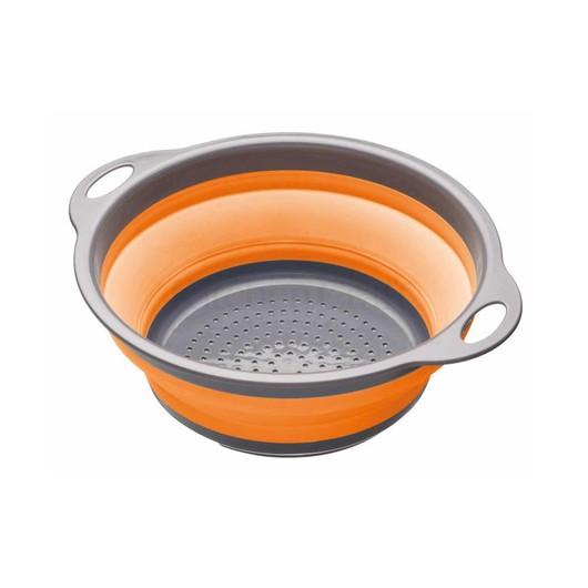 CW Коландер складной 24см оранжевый