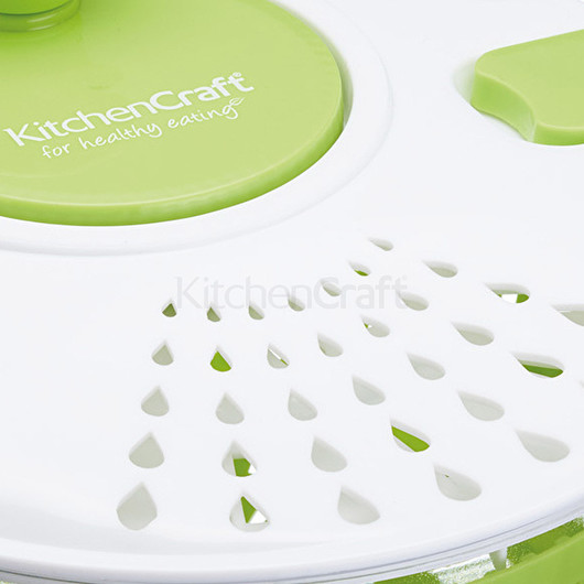 KC Емкость-волчок для перемешивания салата  25 см  (арт. 767714)