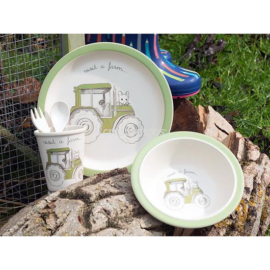 CT Visit A Farm Набір столових приборів дитячий Трактор 5 одиниць  (арт. 5178967)