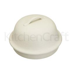 HM Форма керамическая для выпечки хлеба Круглая 30x19см