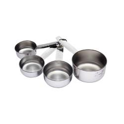 KC SS Набір мірних чашок з нержавіючої сталі