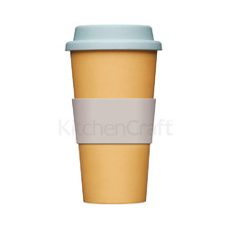 NE Чашка з бамбуку 375 мл жовта