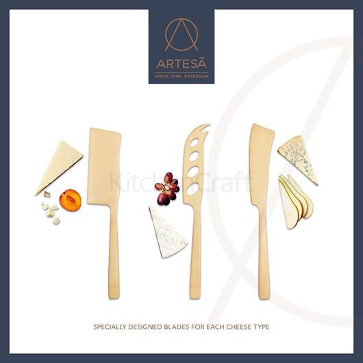 MC Artesa Набір ножів для сиру 3 прибори  (арт. 798091)