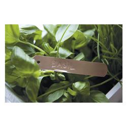 HM Бирки для зелени медные, набор из 10 единиц