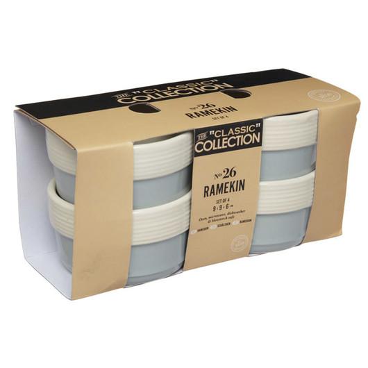 CC Набор керамических порционных горшочков 9см х 6см 4 единицы  (арт. 161130)