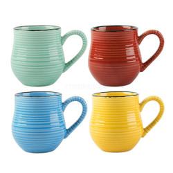 CT La Cafetiere Набор цветных чашек для эспрессо 4 шт