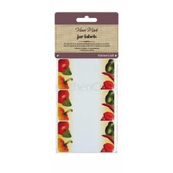 HM Наклейки для банок 30 одиниць - Овочі