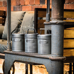 IK Емкость для хранения кофе металлическая