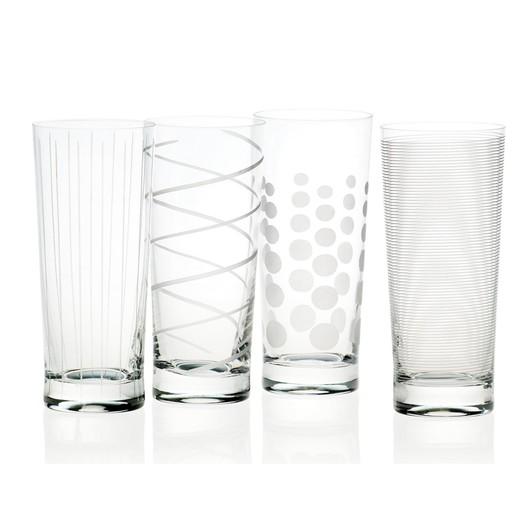 Mikasa Cheers Набір стаканів із кришталевого скла 4 од  (арт. 5159317)